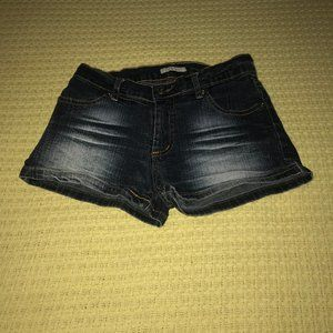 Forever 21 Denim Short Shorts Sz 00